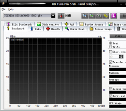 HDtune(硬盘性能检测工具) V5.50 英文官方安装版