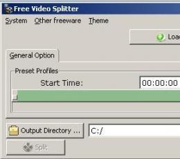 Free Video Splitter(免费视频分割) V4.0.1 免费版