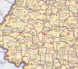 罗马尼亚地图
