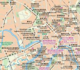 莫斯科地图中文版_俄罗斯莫斯科地图高清版下载