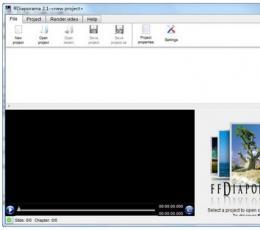 ffDiaporama(免费视频编辑软件) V2.1 绿色版