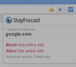 谷歌浏览器扩展_StayFocusdV1.48免费版下载