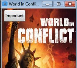 冲突世界修改器 V1.0.1.1 免费版