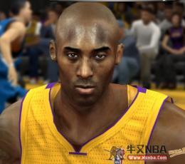NBA2K14科比次世代质感面部补丁