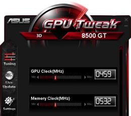 华硕显卡超频软件_GPU TweakV2.5.4.2官方版下载