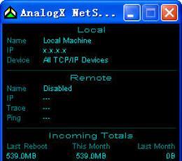 AnalogX NetStat Live(网络流量情况)v2.13英文绿色免费版下载_AnalogX NetStat Live(网络流量情况)