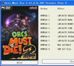 兽人必须死2修改器免费版下载_兽人必须死2九项修改器