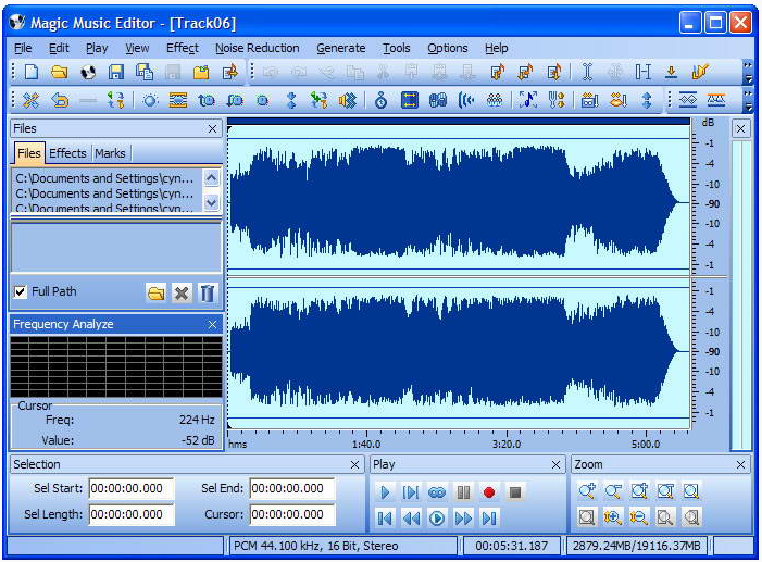Magic Music Editor(音乐编辑器)V8.12.1.2220 免费中文版
