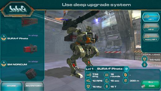 进击的战争机器(Walking War Robots)V0.6.1 安卓版