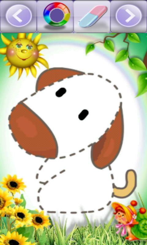 儿童动物图画v
