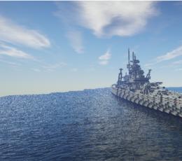 我的世界俾斯麦号战舰存档 绿色版