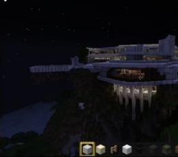 我的世界钢铁侠豪宅地图存档_我的世界钢铁侠豪宅地图存档下载