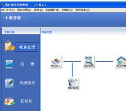 日常帐务处理软件_蓝灯财务软件V2.1最新版下载