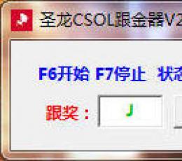 圣龙CSOL跟金器 V2.4 绿色版
