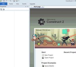 HTML5游戏编辑器(SCIRRA Construct 2) r195 绿色特别版