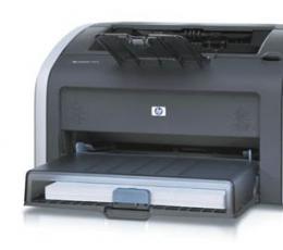 惠普HP LaserJet 1012激光打印机驱动