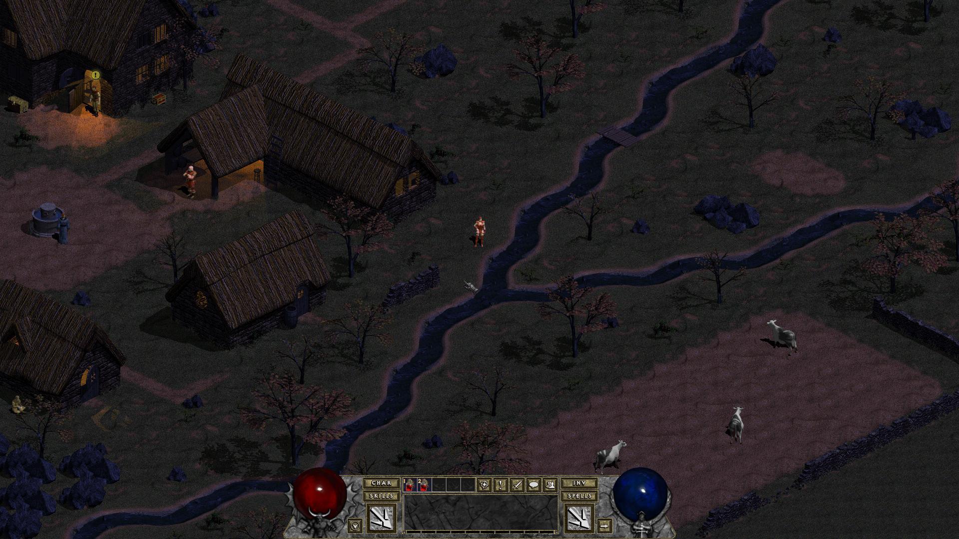 暗黑破坏神地狱火:高清重制版截图3