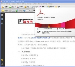 Acrobat Reader 9.0下载_Adobe Acrobat Reader9.0简体中文版下载