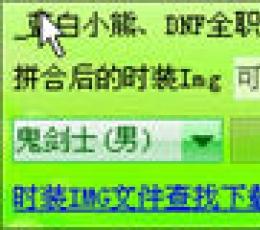 DNF时装IMG文件生成傻瓜包工具 V1.1 绿色版