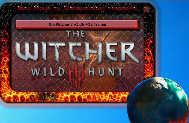 巫师3狂猎修改器+12V2.0 免费版