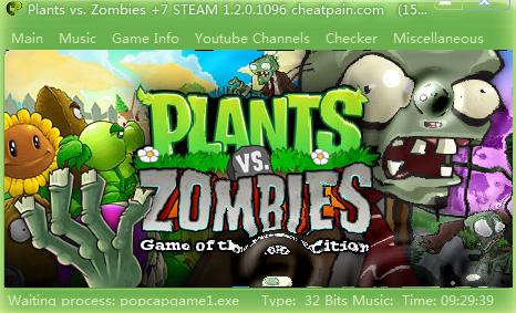 植物大战僵尸2修改器V1.0 免费版