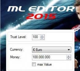 实况足球2015ML转会资金修改器