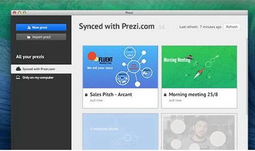 PreziV5.2.8 免费版