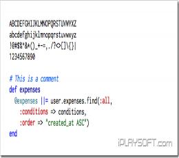 Inconsolata编程字体