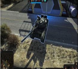 侵略行为T-80隐形坦克Mod