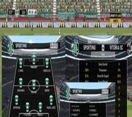 实况足球2016葡萄牙体育电视台logo记分牌美化补丁