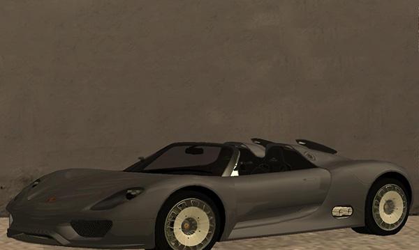 《侠盗猎车手:圣安地列斯》保时捷918超级跑车MOD