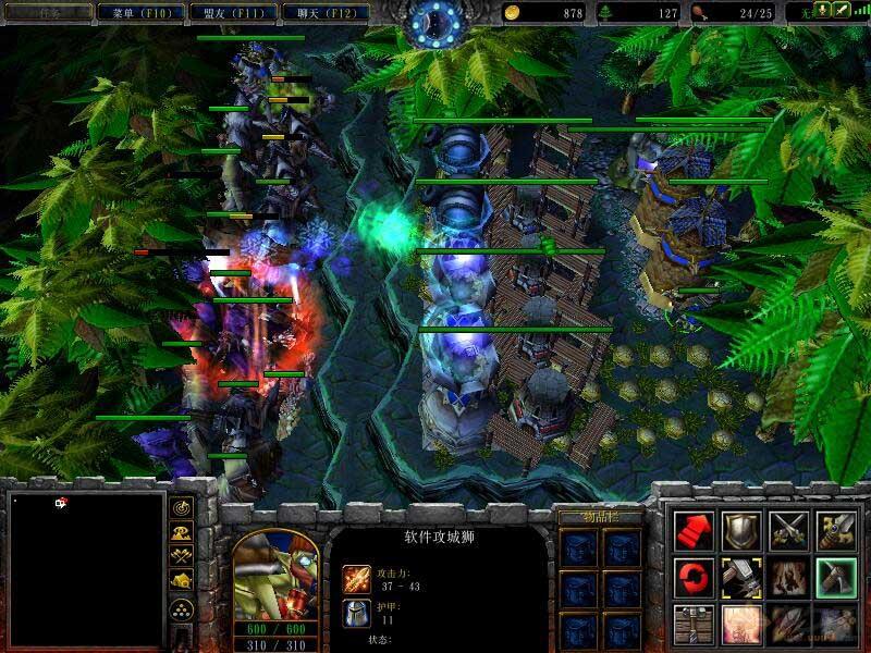 魔兽3地图:恐怖遗迹逃生3