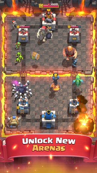 部落冲突:皇室战争V2.10.0 无限宝石金币版