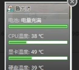 鲁大师温度检测(cpu温度检测软件) V1.0 绿色版