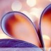 爱心折页温馨浪漫幻灯片模板