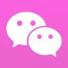 微粉色微信