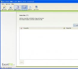 excel文件修复工具(ExcelFIX) V5.59 特别版
