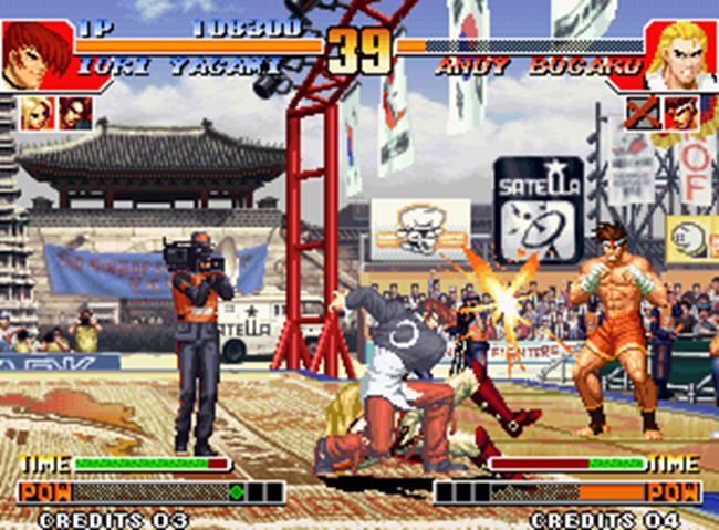拳皇97无限能量免安装中文版