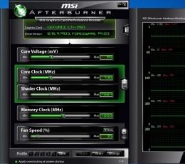 微星显卡超频工具_msi afterburner下载