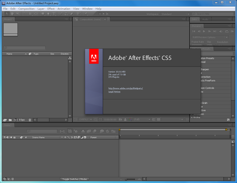 adobe after effects cs5完整破解版电脑版