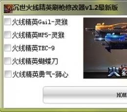 火线精英刷枪工具免费版下载_沉世火线精英刷枪修改器绿色免费版V2.6绿色免费版下载