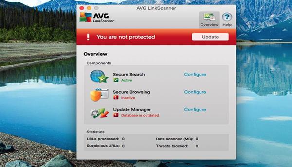 AVG LinkScanner Mac版V12.0 官方版