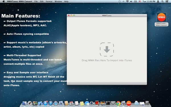 WMATunes for MacV2.0.0 官方版