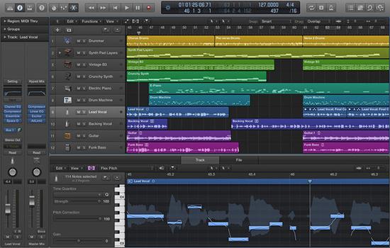 Logic Pro X for macV10.3 官方版