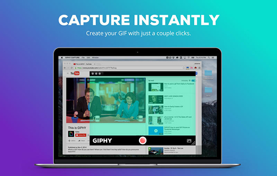 GIPHY CAPTURE Mac版V2.4 官方版