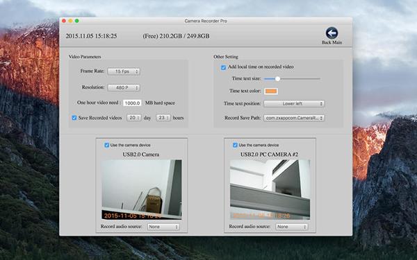 Camera Record Pro HD Mac版V3.1.2 官方版