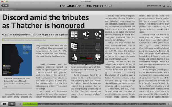 PressReader for macV6.2 官方版