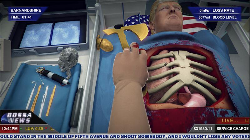 外科模拟:唐纳德・特朗普