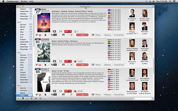 Coming soon Mac版V2.83 官方版