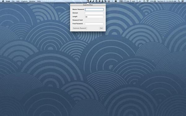 SuperGenPass Mac版V2.0.1 官方版
